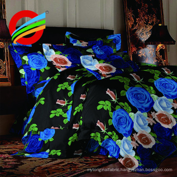 100% polyester microfiber fabric fro bed sheet
