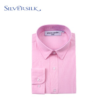Frühling Langarm Executive Pink Boy Dress Shirts