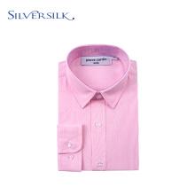 Spring Long Sleeve Executive Pink Boy Dress Shirts