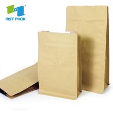 Sac d'emballage en gros de papier d'aluminium avec fermeture éclair