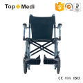 Topmedi Aluminium Lightweight Folding Portable Travel Manual Rollstuhl als Gepäck