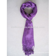 One color wholesale viscose scarf small order