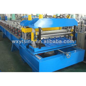 YTSING-YD-0494 Passado CE e ISO Autenticação Vitrificada Telhado Telhado Frio Formando Máquinas