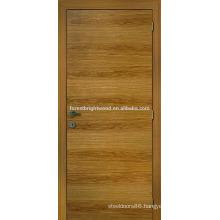 Natrual oak veneered flush door design for house
