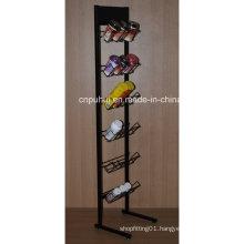Free Standing Metal Snacks Display Rack (PHY1067F)