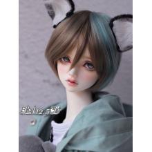 Cabelo de menino peruca BJD [572] Para boneca articulada SD / MSD / YSD