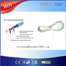Fio do aquecimento da hélice dobro com a preteção do excesso do calor para o cobertor elétrico
