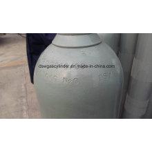 99.9% N2o Gas Filled in 40L Cylinder Gas Vol 20kg/Cylinder with Value