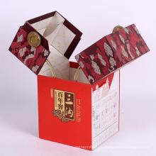 Подгонянные Новые Роскошные Вина Подарка Бумаги Картонной Коробки Упаковки