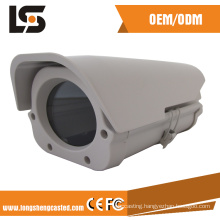 customized aluminum parts die casted surveillance housing from hikvision supplier