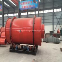 Three Passage Rotary Drum Dryer For Sand Coal