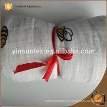 Hot sale 100% Cotton Baby Muslin Blankets Wholesale