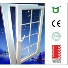 Inclinaison en aluminium tourner la fenêtre avec la grille