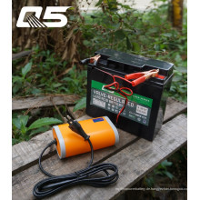 12V6A Automatische Erhaltungs-Blei-Säure-Batterie Aufladeeinheits-Speicher-Ladegerät
