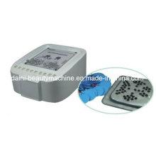 Luxo Electro Estimulação Microcorrente Perda De Peso Drenagem Linfática Cuidados Com Os Peitos Massageador Relaxar