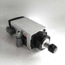 4kw ER20 220V quadratische Luft gekühlt Spindelmotor für Holzarbeiten