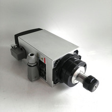 4kw ER20 220V square air cooled spindle motor for wood work