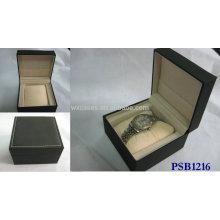 Leder Uhrenbox für einzelne Uhr gute Qualität Frm China