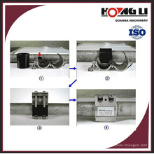 RCD flexible pvc pipe repair clamp for water supply