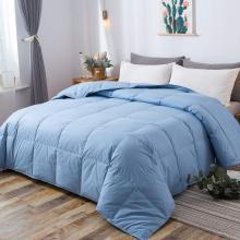 100% хлопок стеганые пуховые одеяла с угловыми вкладками