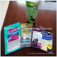 Zip Lock Pet Food Plastic Packaging Bags