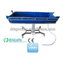 DW-HE018 Hospital electric shower trolley shower bed hospital equipment in china