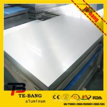 aluminium sheet used aircraft parts