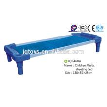 JQP4604 guardar el lugar Jardín de infancia azul Muebles de plástico Cama de niños