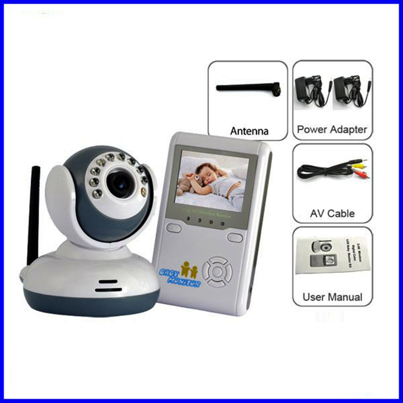 Baby Monitor With Wireless Camera