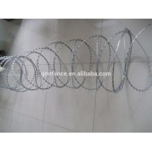 low price hot dipped galvanized concertina razor barbed wire