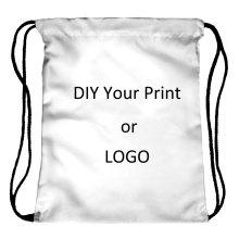 Индивидуальная сумка с принтом на шнурке