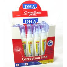 Stylo liquide de correction non-toxique de séchage rapide de haute qualité Dh-812 utilisé dans le bureau et l'école