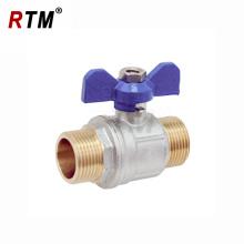 male valve water valve butterfly brass ball valve