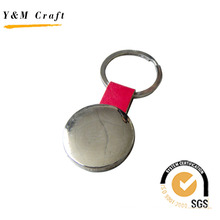 Hot Sale Cheap Promotional Keyring Leather Keychain (Y02098)