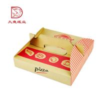 Professionelle personalisierte kleine leere Hersteller Italien Pizza-Boxen für den Versand