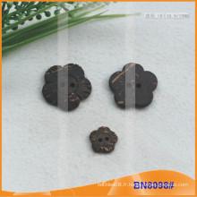 Boutons de noix de coco naturels pour le vêtement BN8098