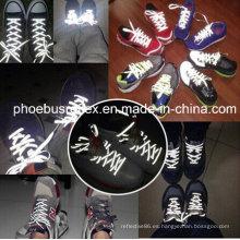 Cordones reflectantes, correa de zapatos, correas de zapatos