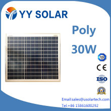High Efficiency 30W Poly Solar Panel for Street Lights