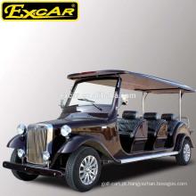 8 assentos baratos carrinho elétrico clássico para venda 48V