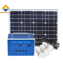 30W del sistema de la rejilla Sistema solar para el uso de la casa