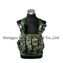 Chaleco táctico del pecho del camuflaje de Digitaces de la seguridad militar (HY-V061)