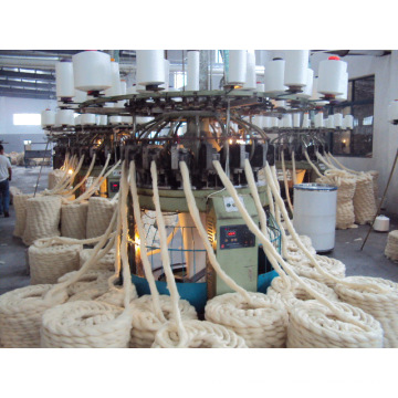 Used Fake Fur Jacquard Computerized Circular Knitting Machine