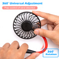 Mini USB Portable Fan Neck Fan Neckband With Rechargeable Battery Small Desk Fans handheld Air Cooler Conditioner