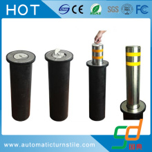 Security Manual Retractable Bollard with Base Plate