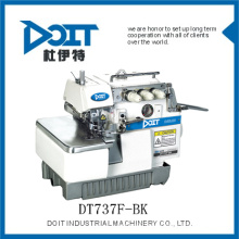 durable hilo de tres vueltas latchingg costura overlock máquina de coser DT737F-BK