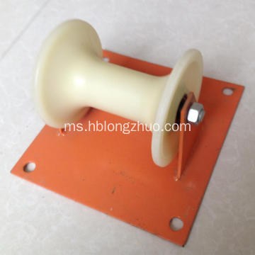 Tiga Drum Kabel Roller Single Roller Kabel Tanah