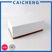 Boîte d'emballage de cadeau personnalisé imprimé cosmétique