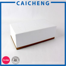 Напечатанная таможней коробка косметического подарка установленная упаковывая