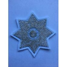 Kristall handgemachte Blume Perlen Stern Stickerei Patches