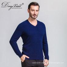 Erdos Mens Italian Tshirt Collar Cashmere Sweater Jersey con el mejor precio